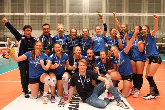 B-tytöt kultaa 2016